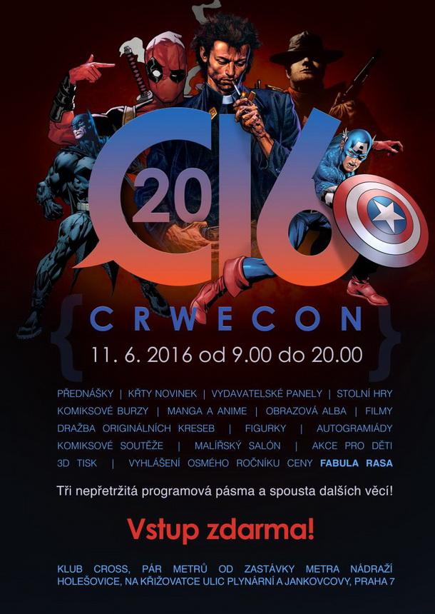 crwecon 2016_plakat