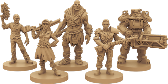 Fallout-boardgame-statues