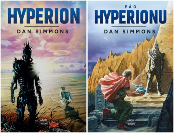 Hyperion-obalky